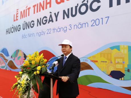 Bộ trưởng Tài Nguyên Môi Trường CSVN muốn biến nước thải thành tài nguyên