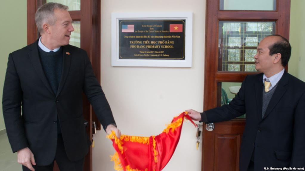 Hoa Kỳ tặng ngôi trường thứ 20 cho Việt Nam