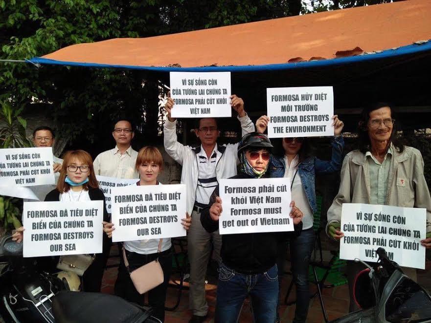 Khắp ba miền hưởng ứng ngày tổng biểu tình vì môi trường