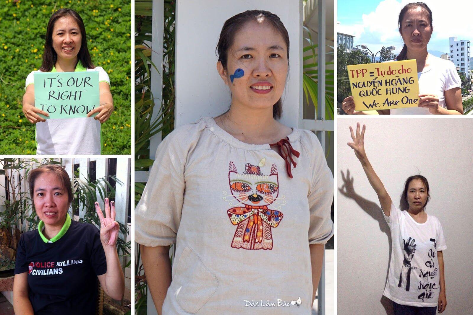 Nhóm chuyên gia nhân quyền Liên Hiệp Quốc yêu cầu CSVN thả blogger Mẹ Nấm