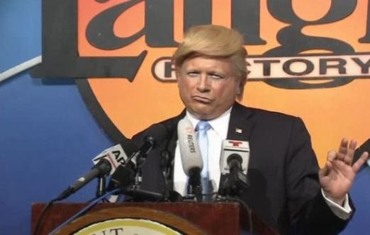 Los Angeles tổ chức cuộc thi người giả Donald Trump giống nhất