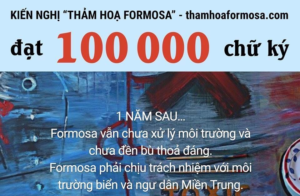 Hai hoạt động trái ngược của chính quyền CSVN và người dân một năm sau thảm họa Formosa