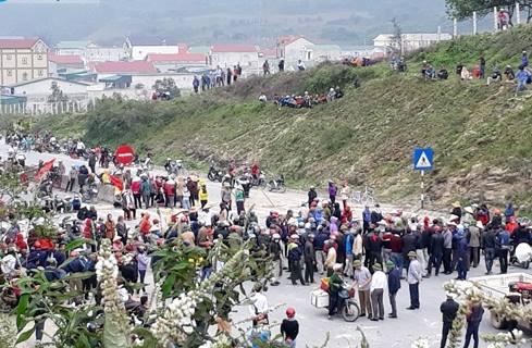 Nhà cầm quyền Hà Tĩnh khởi tố vụ người dân chặn quốc lộ 1A biểu tình chống Formosa