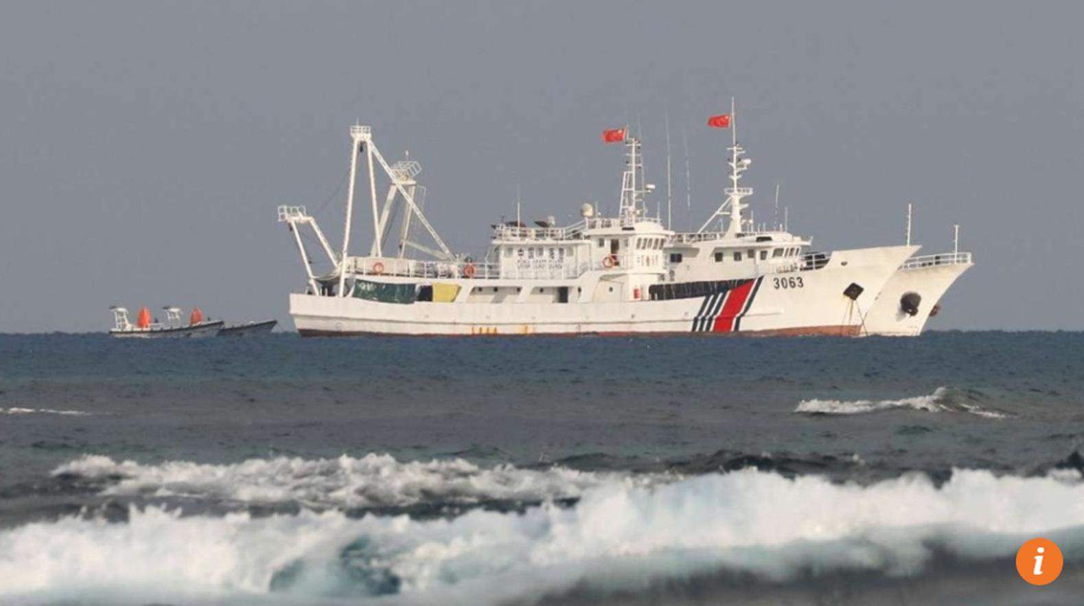 Tàu hải giám Trung Cộng bắn vào tàu cá Philippines