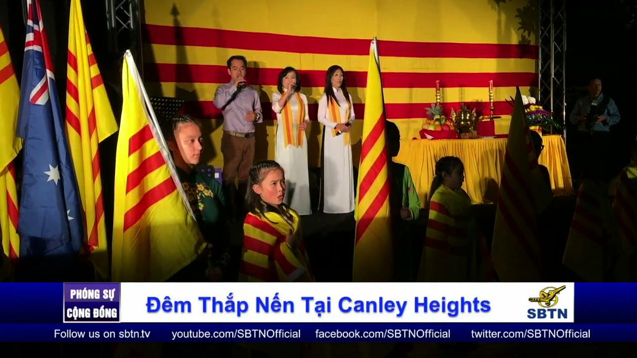 Đêm thắp nến tưởng niệm Quốc Hận 30/4 tại Canley Heights – Úc Châu