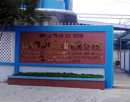 Công Ty Cấp Nước Cà Mau nợ lương nhân viên gần 1 triệu Mỹ Kim
