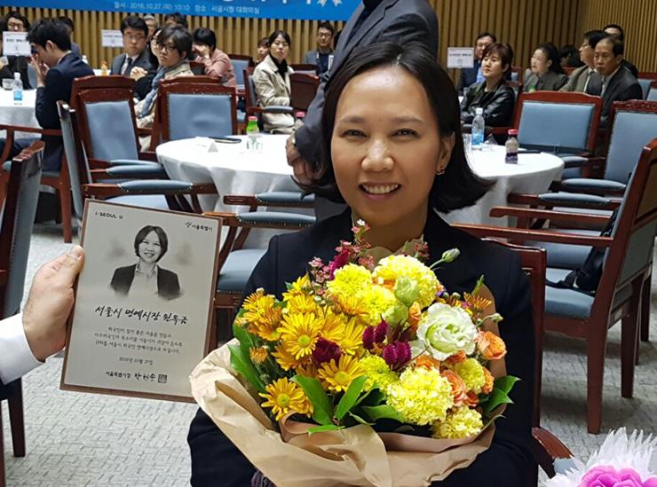 Phụ nữ gốc Việt làm cố vấn cho ứng cử viên tổng thống Nam Hàn
