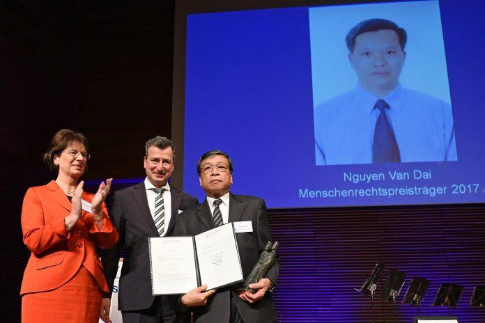 Nữ Dân Biểu Đức Marie-Luise Dött: câu chuyện của ông Nguyễn Văn Đài gắn liền với lịch sử Đức