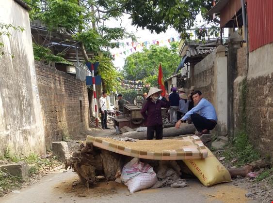 Chủ tịch ủy ban thành phố Hà Nội chối không hứa đến Đồng Tâm thương lượng với dân