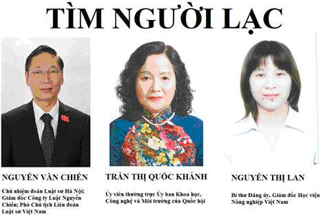 Dân xã Đồng Tâm đăng thông cáo 'tìm người lạc', chỉ trích dân cử địa phương bù nhìn
