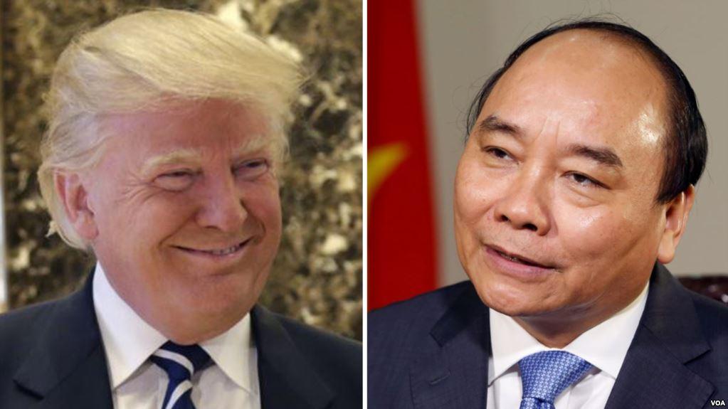 Tổng thống Trump chính thức mời thủ tướng CSVN sang thăm Hoa Kỳ