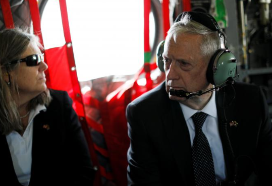 Bộ Trưởng Bộ Quốc Phòng James Mattis đi thăm Afganistan