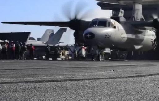 Hạm đội tấn công của Hải Quân Hoa Kỳ tiến đến bán đảo Triều Tiên