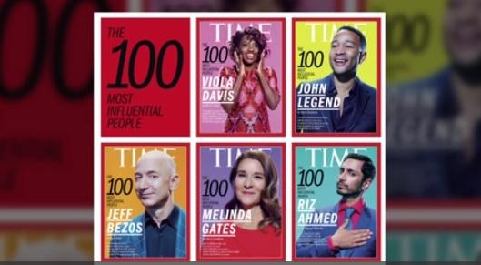 """Tạp chí Time công bố danh sách """"100 người có ảnh hưởng nhất thế giới"""""""