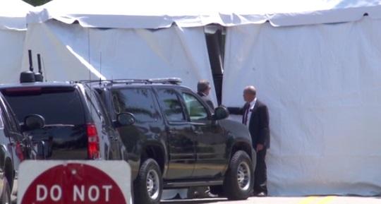 Tổng thống Trump lại bay về Mar-a-lago để nghỉ Lễ Phục Sinh