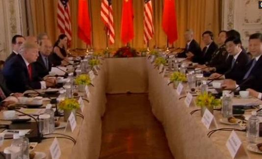 Tổng thống Trump thúc đẩy chủ tịch Trung Cộng Tập Cận Bình làm nhiều hơn về thương mại và Bắc Hàn
