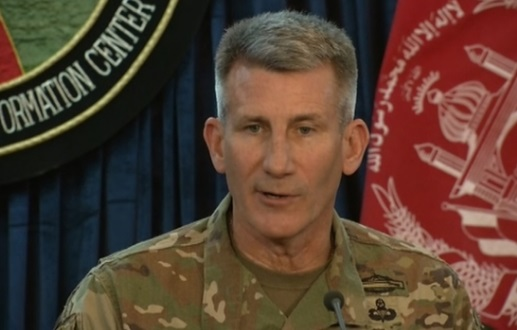 Đại tướng John Nicholson:  thả bom Afghanistan vì mục đích quân sự, không vì chính trị