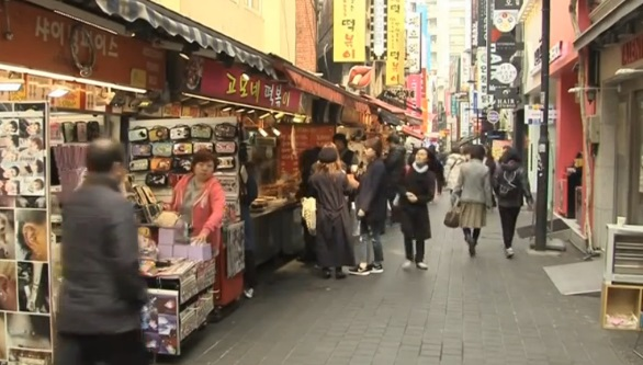 Lượng du khách Trung Cộng đến Nam Hàn giảm 40% trong tháng 3