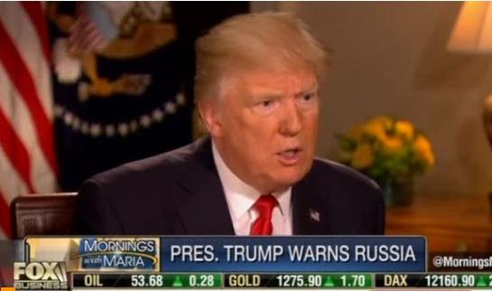 """Tổng thống Trump gọi tổng thống Assad là """"thú vật"""", nhưng sẽ không gởi quân tới Syria"""