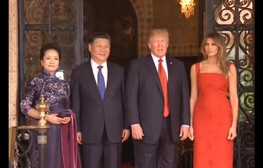 Tổng thống Trump, ông Tập Cận Bình ăn tối trước khi bàn về an ninh và thương mại