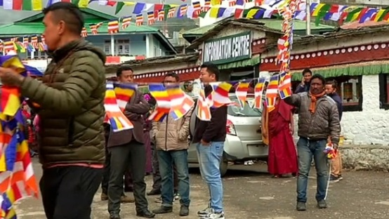 Thị trấn Ấn Độ chờ đón Đức Đạt Lai Lạt Ma