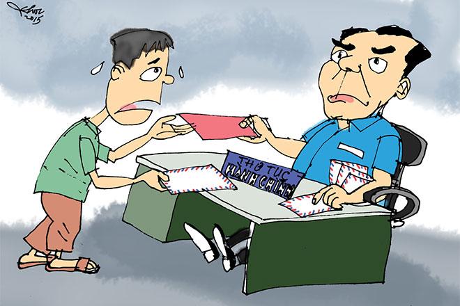 Ở Việt Nam, đi xin việc làm phải đưa hối lộ