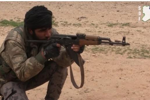 Liên minh Syria được Mỹ hậu thuẫn đụng độ với ISIS ở phía Đông Tabqa