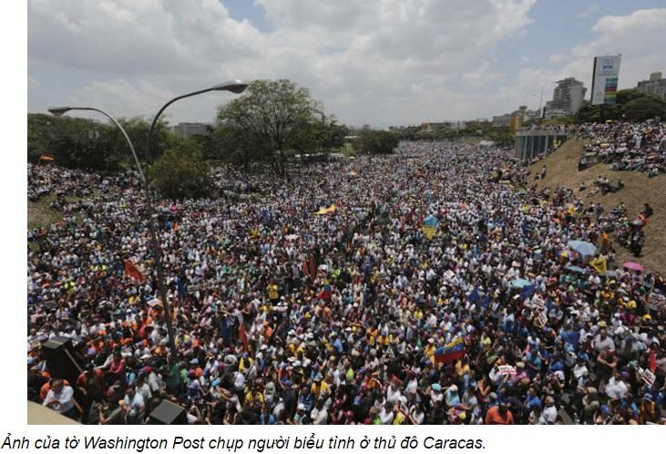 'Chủ nghĩa xã hội Venezuela': Chó cũng không có cứt mà ăn (Tâm Don)