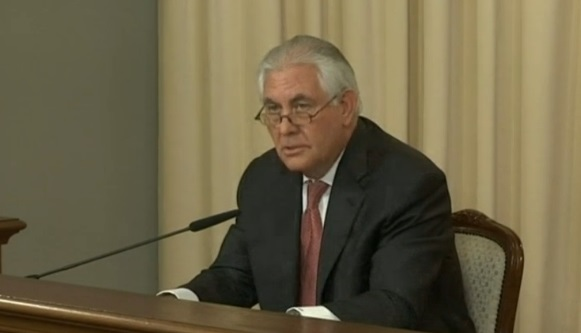 Ngoại trưởng Tillerson: mối quan hệ và độ tin cậy giữa Mỹ-Nga rơi xuống mức thấp nhất