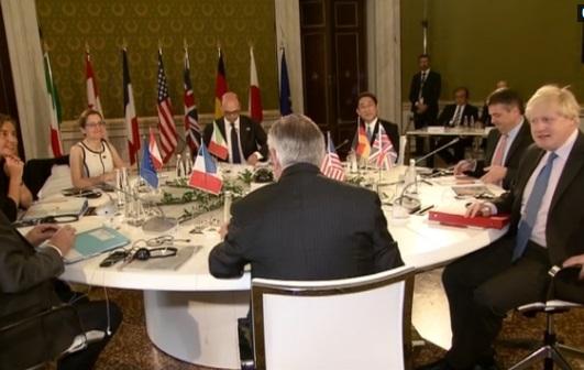 Khối G7 họp ở Ý tìm phương án giải quyết xung đột Syria