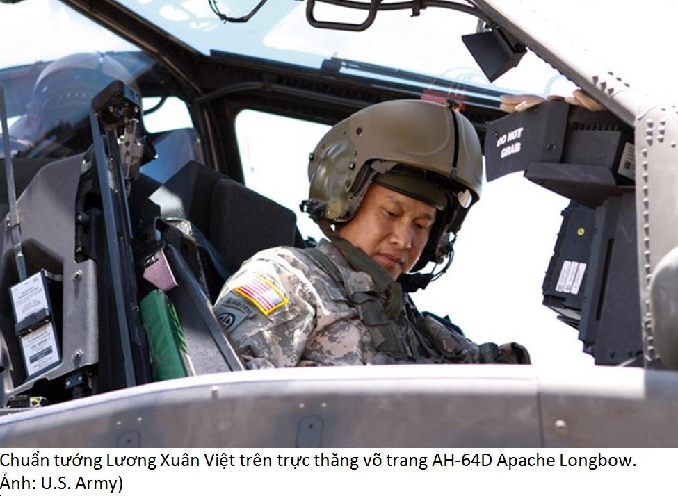 Chuẩn Tướng Lương Xuân Việt được đề cử thăng cấp thiếu tướng