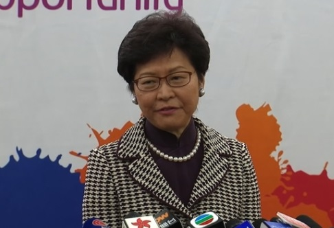 Tân đặc khu trưởng Hong Kong Carrie Lam: không có chỗ cho phong trào đòi độc lập