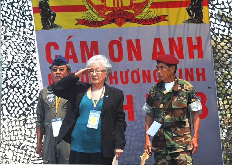 Bà Hạnh Nhơn, Hội trưởng Hội HO Cứu Trợ Thương Phế Binh và Quả Phụ VNCH từ trần, hưởng thọ 90 tuổi