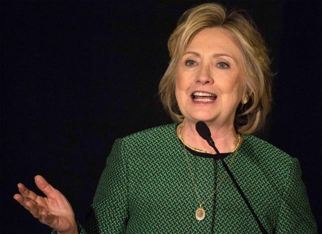 Bà Hillary Clinton kêu gọi thả bom căn cứ không quân Syria