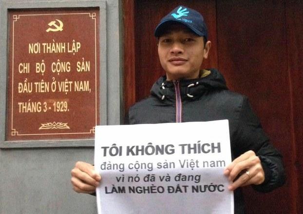CSVN ban hành lệnh truy nã nhà hoạt động Bạch Hồng Quyền