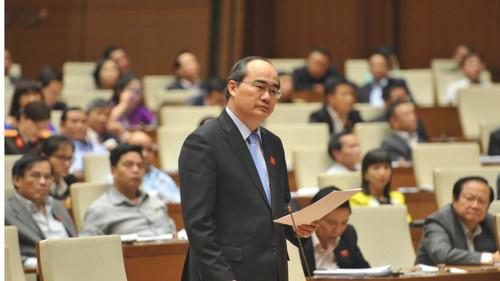 Ông Nguyễn Thiện Nhân về lại Sài Gòn làm bí thư thành ủy