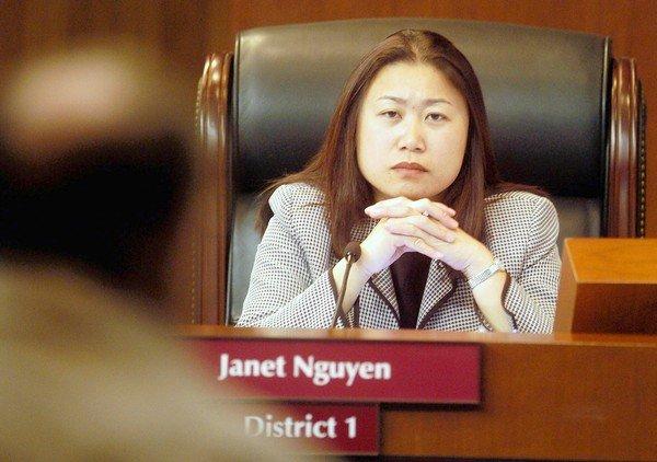 TNS Janet Nguyễn chống dự luật cho phép đảng viên cộng sản làm công chức California