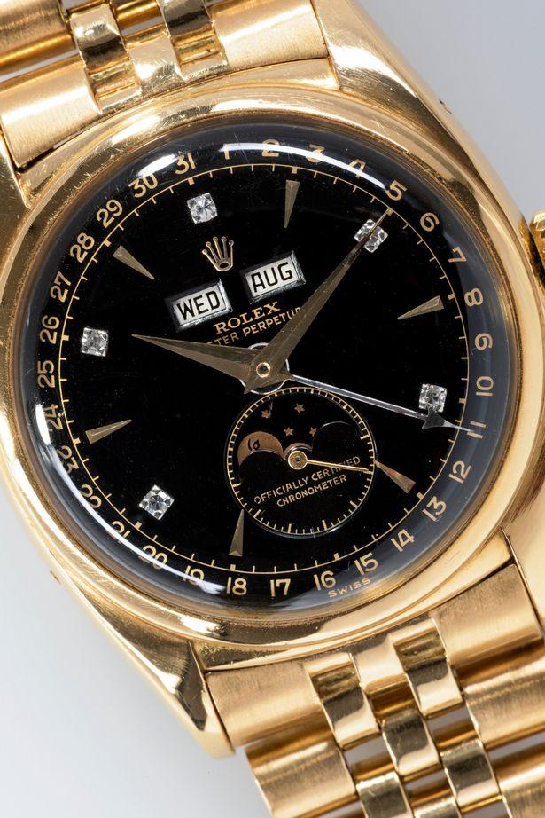 Bán đấu giá đồng hồ Rolex của Hoàng Đế Bảo Đại