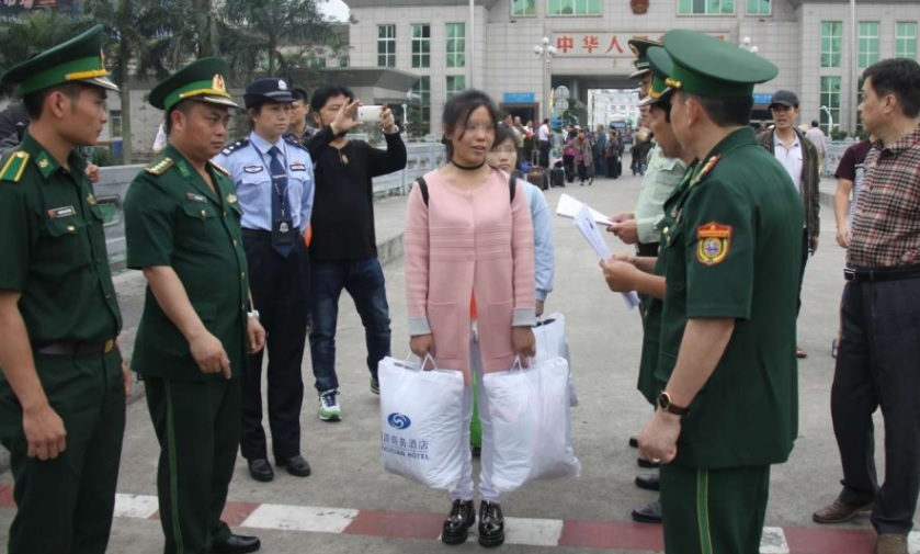 Băng đảng Trung Cộng ra tòa vì bắt cóc và bán 27 phụ nữ Việt Nam