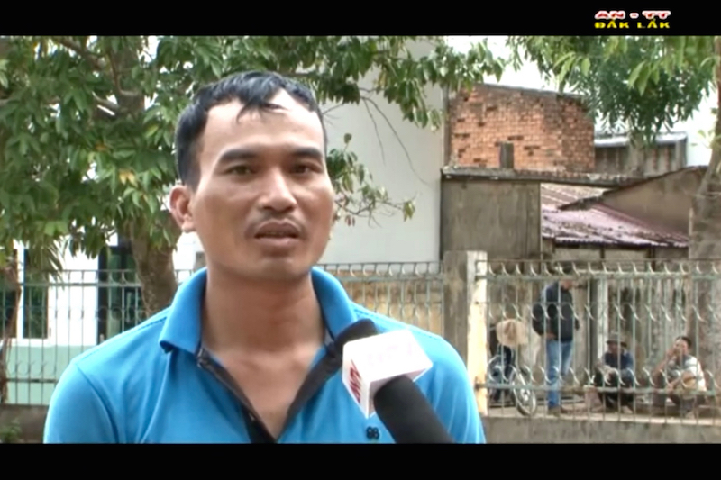 CSVN buộc người Thượng hồi hương lên TV nói xấu Cambodia