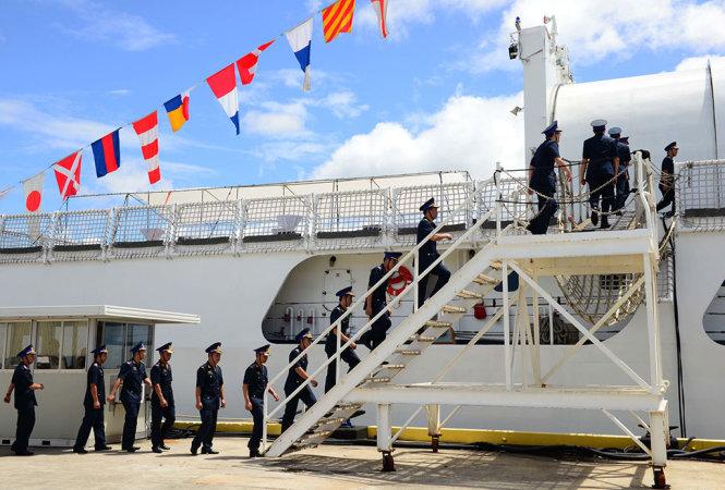 Hoa Kỳ giao tàu tuần tiễu cho cảnh sát biển CSVN