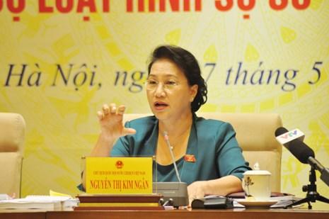 Quốc hội CSVN tranh cãi về việc bộ luật hình sự đòi luật sư tố giác thân chủ