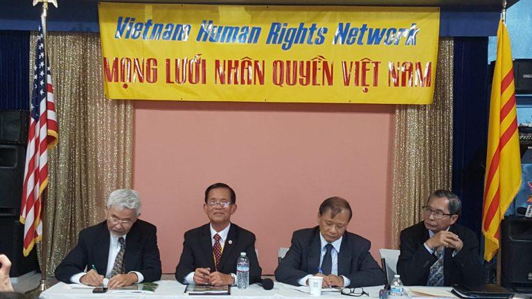 Mạng Lưới Nhân Quyền công bố báo cáo nhân quyền Việt Nam 2016-2017