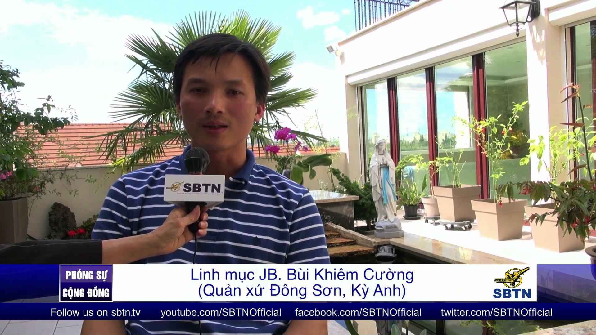 Từ Âu Châu, phái đoàn Giáo phận Vinh đau lòng nhìn về Việt Nam