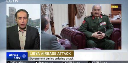 Căn cứ không quân ở Libya bị tấn công: 141 người chết