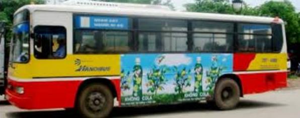 Sài Gòn cho phép quảng cáo trên xe buýt do ngân sách cạn kiệt