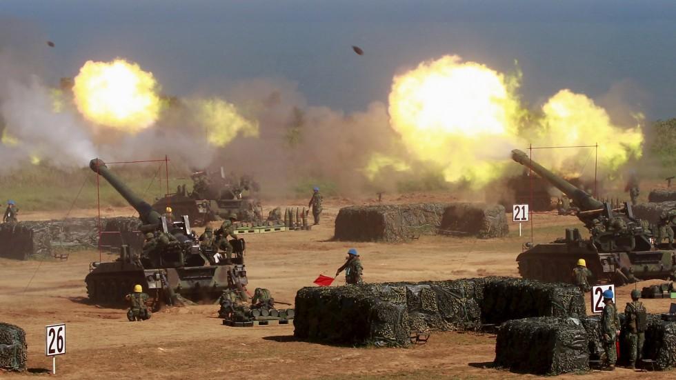 Đài Loan bắt đầu tập trận bắn đạn thật giữa lúc căng thẳng trong khu vực gia tăng