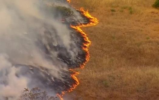 Cháy rừng tại San Diego California, cư dân phải di tản
