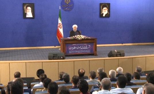 Tổng thống Iran Rouhani doạ tiếp tục thử hoả tiễn