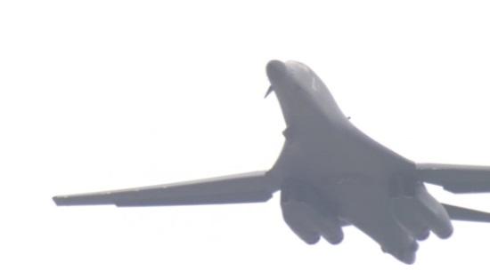 Oanh tạc cơ của Hoa Kỳ bay trên vùng trời bán đảo Triều Tiên